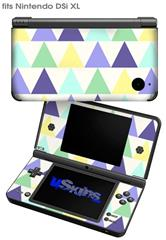 Triangles Cool - Decal Style Skin fits Nintendo DSi XL (DSi SOLD SEPARATELY)