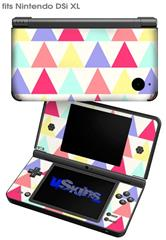 Triangles Light - Decal Style Skin fits Nintendo DSi XL (DSi SOLD SEPARATELY)