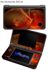 Flaming Veil - Decal Style Skin fits Nintendo DSi XL (DSi SOLD SEPARATELY)