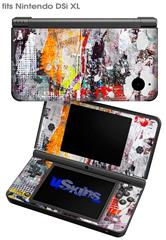 Abstract Graffiti - Decal Style Skin fits Nintendo DSi XL (DSi SOLD SEPARATELY)