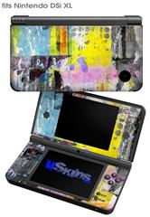 Graffiti Pop - Decal Style Skin fits Nintendo DSi XL (DSi SOLD SEPARATELY)