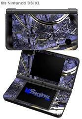 Gyro Lattice - Decal Style Skin fits Nintendo DSi XL (DSi SOLD SEPARATELY)
