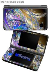 Vortices - Decal Style Skin fits Nintendo DSi XL (DSi SOLD SEPARATELY)