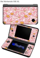 Flowers Pattern 12 - Decal Style Skin fits Nintendo DSi XL (DSi SOLD SEPARATELY)