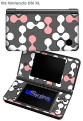 Locknodes 04 Pink - Decal Style Skin fits Nintendo DSi XL (DSi SOLD SEPARATELY)