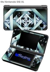 Hall Of Mirrors - Decal Style Skin fits Nintendo DSi XL (DSi SOLD SEPARATELY)
