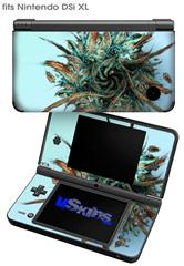 Hairball - Decal Style Skin fits Nintendo DSi XL (DSi SOLD SEPARATELY)