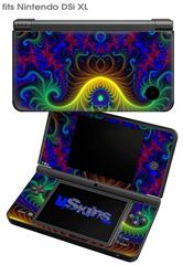 Indhra-1 - Decal Style Skin fits Nintendo DSi XL (DSi SOLD SEPARATELY)