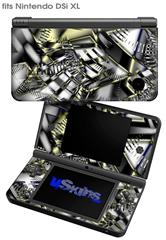 Like Clockwork - Decal Style Skin fits Nintendo DSi XL (DSi SOLD SEPARATELY)