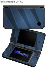 VintageID 25 Blue - Decal Style Skin fits Nintendo DSi XL (DSi SOLD SEPARATELY)