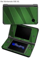 VintageID 25 Green - Decal Style Skin fits Nintendo DSi XL (DSi SOLD SEPARATELY)