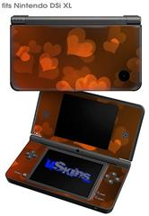 Bokeh Hearts Fire - Decal Style Skin fits Nintendo DSi XL (DSi SOLD SEPARATELY)