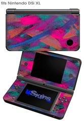 Painting Brush Stroke - Decal Style Skin fits Nintendo DSi XL (DSi SOLD SEPARATELY)