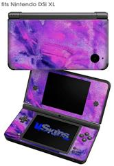 Painting Purple Splash - Decal Style Skin fits Nintendo DSi XL (DSi SOLD SEPARATELY)