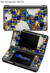 Quilt3 - Decal Style Skin fits Nintendo DSi XL (DSi SOLD SEPARATELY)
