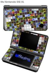 Quilt - Decal Style Skin fits Nintendo DSi XL (DSi SOLD SEPARATELY)