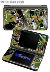 Shatterday - Decal Style Skin fits Nintendo DSi XL (DSi SOLD SEPARATELY)