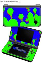 Drip Blue Green Red - Decal Style Skin fits Nintendo DSi XL (DSi SOLD SEPARATELY)