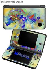 Sketchy - Decal Style Skin fits Nintendo DSi XL (DSi SOLD SEPARATELY)