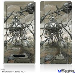 Zune HD Skin - Mankind Has No Time