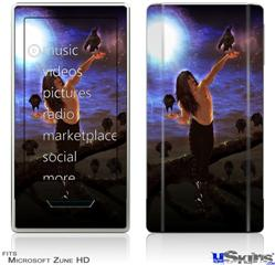 Zune HD Skin - Kathy Gold - Crow Whisperere 1