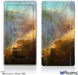 Zune HD Skin - Hubble Images - Gases in the Omega-Swan Nebula