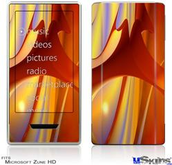 Zune HD Skin - Red Planet