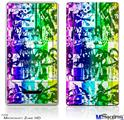 Zune HD Skin - Rainbow Graffiti
