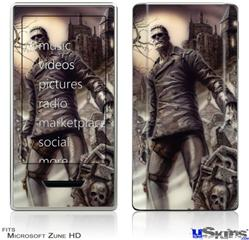 Zune HD Skin - Creation