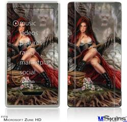 Zune HD Skin - Red Riding Hood