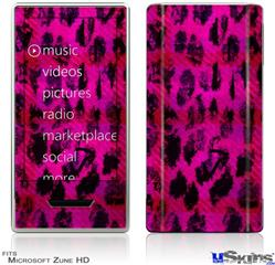 Zune HD Skin - Pink Distressed Leopard