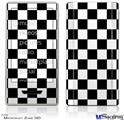Zune HD Skin - Checkers White