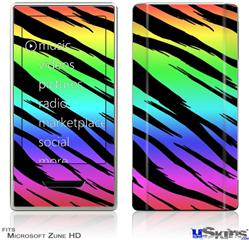 Zune HD Skin - Tiger Rainbow
