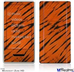 Zune HD Skin - Tie Dye Bengal Belly Stripes