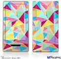 Zune HD Skin - Brushed Geometric