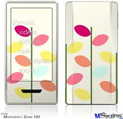 Zune HD Skin - Plain Leaves