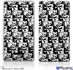 Zune HD Skin - Skull Checker