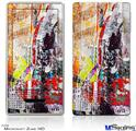 Zune HD Skin - Abstract Graffiti