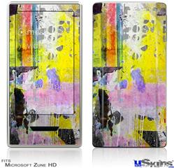 Zune HD Skin - Graffiti Pop