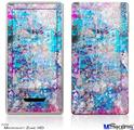 Zune HD Skin - Graffiti Splatter