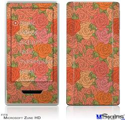 Zune HD Skin - Flowers Pattern Roses 06