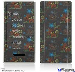 Zune HD Skin - Flowers Pattern 07