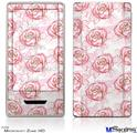 Zune HD Skin - Flowers Pattern Roses 13