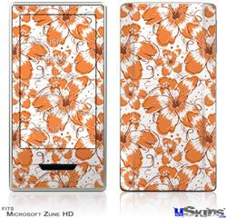 Zune HD Skin - Flowers Pattern 14