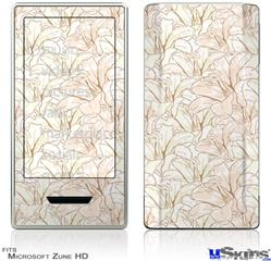Zune HD Skin - Flowers Pattern 17