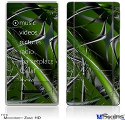 Zune HD Skin - Haphazard Connectivity