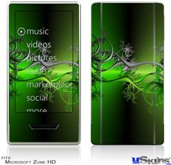 Zune HD Skin - Lighting