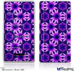 Zune HD Skin - Daisies Purple