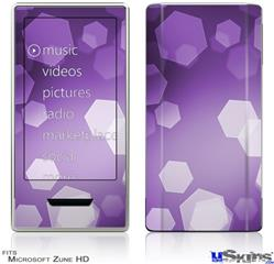 Zune HD Skin - Bokeh Hex Purple
