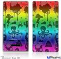 Zune HD Skin - Cute Rainbow Monsters